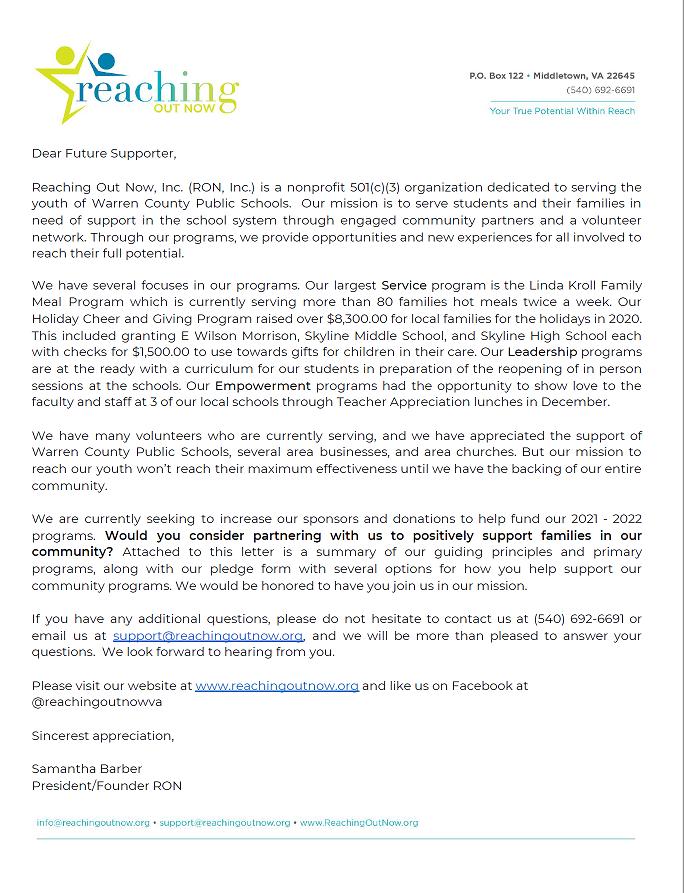 Sponsorship Letter 2021 Thumbnail